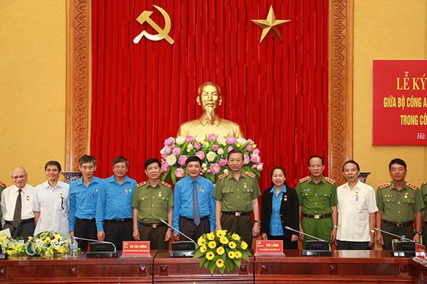 Bộ Công an ký Quy chế phối hợp với Tổng Liên đoàn Lao động Việt Nam1 - Ảnh minh hoạ 4