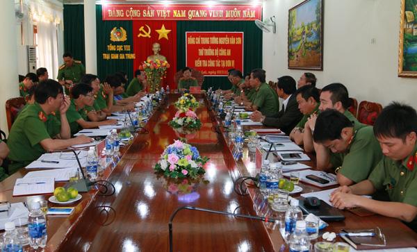 Thứ trưởng Nguyễn Văn Sơn thăm và làm việc tại Công an Kon Tum và Trại giam Gia Trung - Ảnh minh hoạ 5