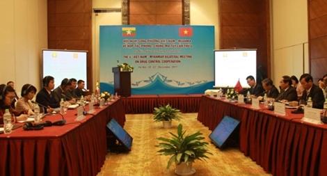 Tăng cường hợp tác phòng, chống ma túy Việt Nam – Myanmar