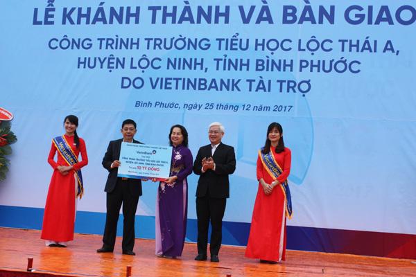 Khánh thành trường tiểu học nơi biên giới do VietinBank tài trợ xây dựng - Ảnh minh hoạ 2