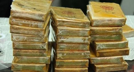 Thư khen các lực lượng có thành tích xuất sắc phá vụ 77 bánh heroin