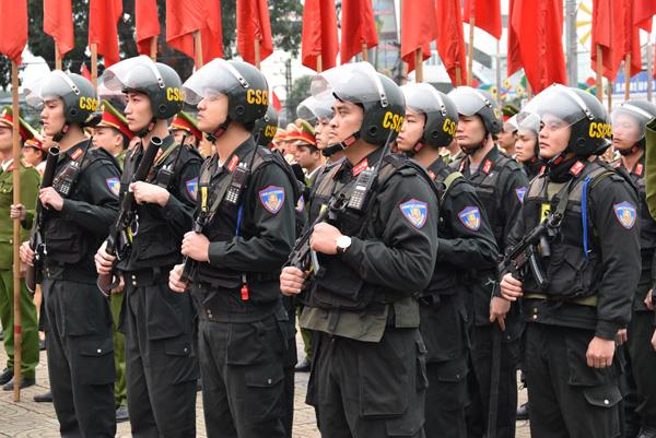 Công an tỉnh Ninh Bình ra quân đảm bảo ANTT Tết Nguyên đán