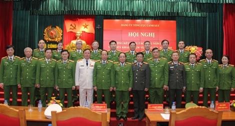 Tăng cường công tác xây dựng Đảng, xây dựng lực lượng Cảnh sát trong sạch, vững mạnh