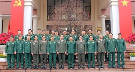 Lãnh đạo Bộ Công an thăm, chúc Tết Cục Bảo vệ an ninh Quân đội