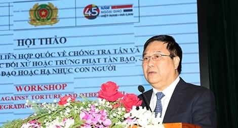 Tăng cường năng lực cho cán bộ Việt Nam trong thực thi Công ước chống tra tấn