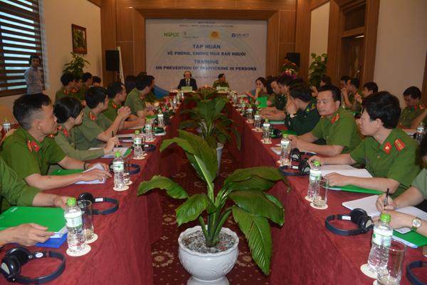 Bộ Công an tổ chức lớp tập huấn liên ngành về phòng, chống mua bán người