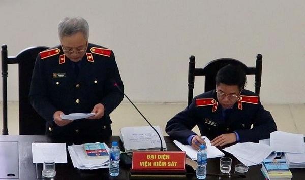 Đại diện Viện kiểm sát đề nghị y án chung thân đối với Châu Thị Thu Nga.