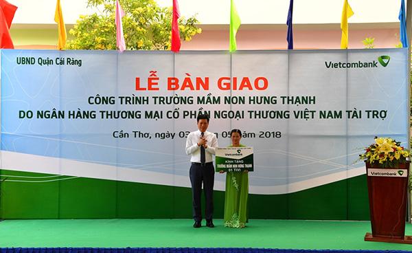 Vietcombank tài trợ 5 tỷ đồng xây dựng Trường Mầm non Hưng Thạnh - Ảnh minh hoạ 4