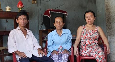 Một gia đình có nhiều người mắc bệnh hiểm nghèo cần được giúp đỡ
