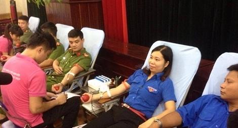Công an tỉnh Hưng Yên tổ chức ngày hội hiến máu tình nguyện