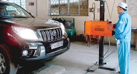 Quy định mới về kinh doanh dịch vụ kiểm định xe cơ giới