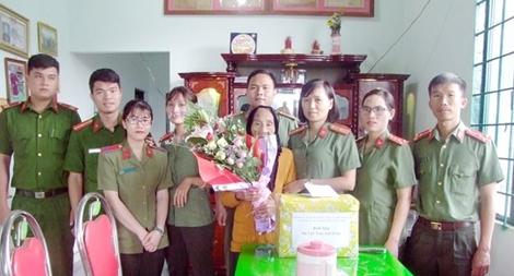 Hội Phụ nữ Công an Đắk Nông với nhiều hoạt động nghĩa tình