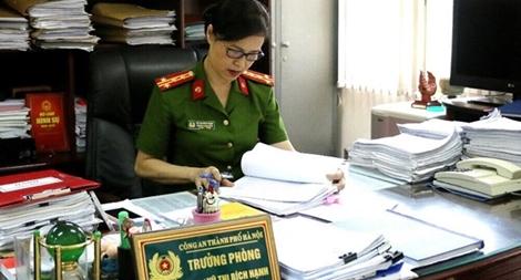 Chuyện nghề của Trưởng phòng Hồ sơ cảnh sát