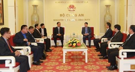 Tăng cường hợp tác an ninh Việt Nam – Lào