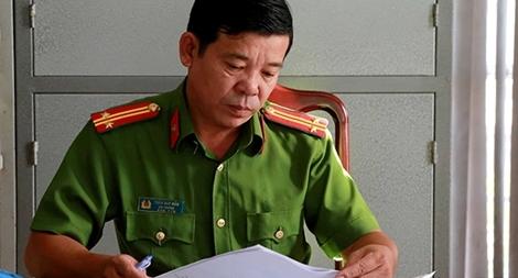 Người đội trưởng ghi dấu ấn qua hàng chục vụ án lớn