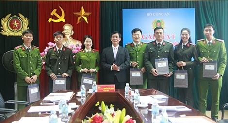 7 đại biểu Công an dự Đại hội Hội Sinh viên toàn quốc