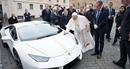 Cơ hội sở hữu siêu xe Lamborghini của Đức Giáo hoàng với… 10 USD