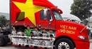 Muôn kiểu trang trí xe đa sắc màu cổ vũ tuyển Việt Nam