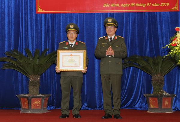 Hội nghị triển khai công tác năm 2019 tại Công an tỉnh Bắc Ninh