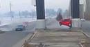 Flycam quay đám cưới vô tình ghi lại cảnh tai nạn xe hơi kinh hoàng
