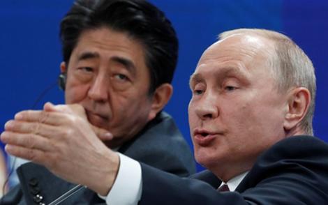 Nam Kuril ngáng trở hiệp ước hòa bình Nga – Nhật