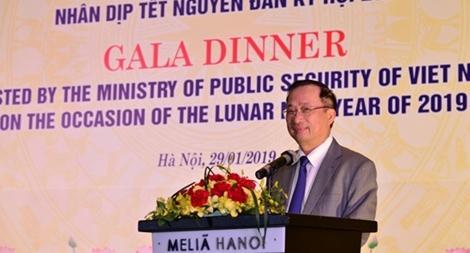 Bộ Công an thắt chặt hợp tác trên lĩnh vực đối ngoại với các nước