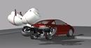 Túi khí dành cho người lái mô tô tích hợp trong yên xe