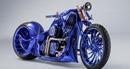 Choáng váng với chiếc siêu môtô đính kim cương, mạ vàng nguyên khối