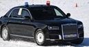Siêu xe bọc thép của Tổng thống Nga đua trên tuyết