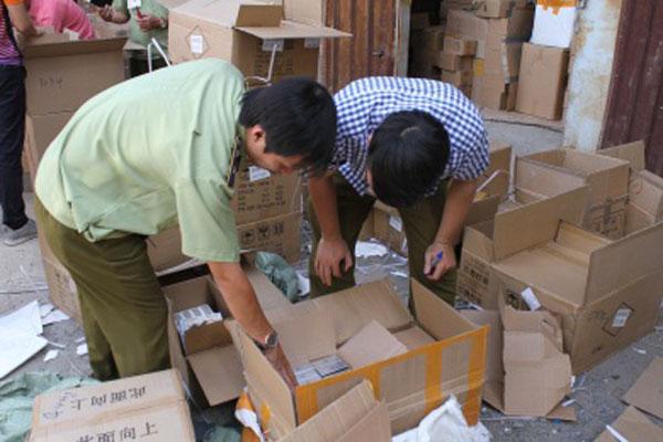 Số lượng lớn mỹ phẩm lậu bị phát hiện, bắt giữ đầu năm 2019.