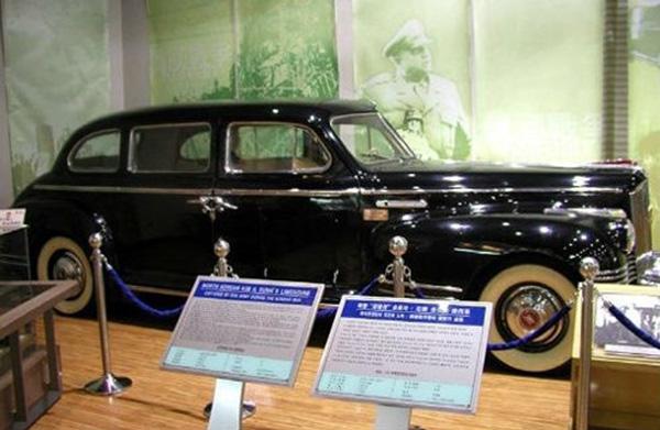 Chiếc xe ZIS của cố Chủ tịch Kim Nhật Thành.