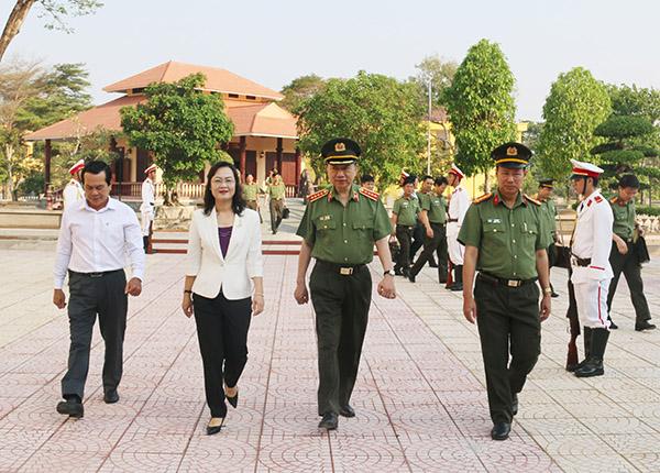 Bộ trưởng Tô Lâm kiểm tra công tác tại Công an tỉnh Bạc Liêu - Ảnh minh hoạ 3