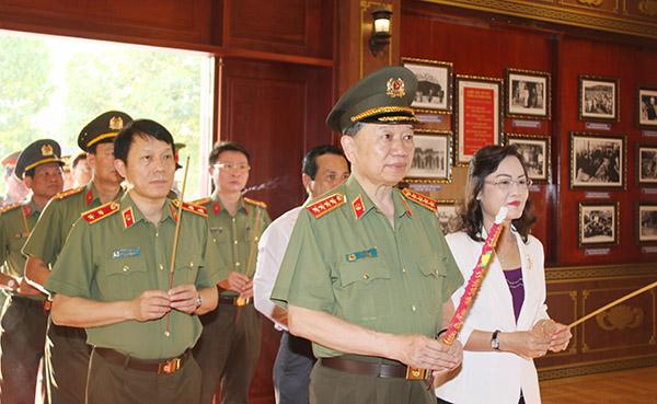 Bộ trưởng Tô Lâm kiểm tra công tác tại Công an tỉnh Bạc Liêu - Ảnh minh hoạ 5