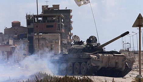 """Libya hỗn loạn trong """"canh bạc"""" từ bên ngoài"""