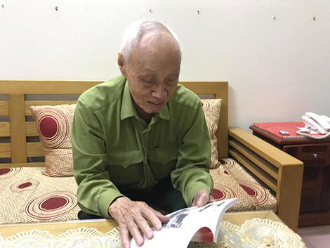 Đại tá Đặng Đức Song giờ đã sang tuổi 85.