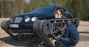 """Độc đáo chiếc Bentley được """"phù phép"""" thành… xe tăng"""