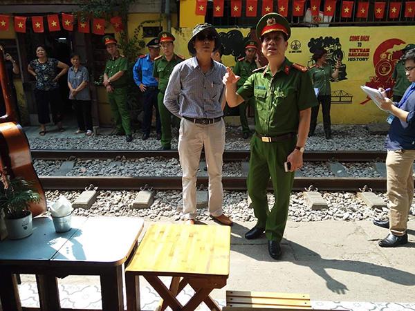 Ra quân lập lại trật tự hành lang đường sắt - Ảnh minh hoạ 7