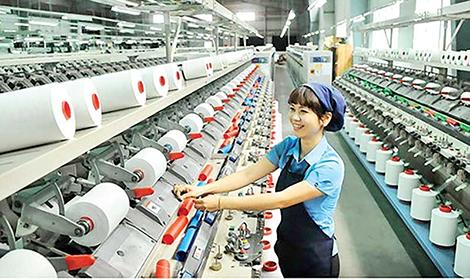 Dệt may của Việt Nam được cho là ngành có thế mạnh cạnh tranh.