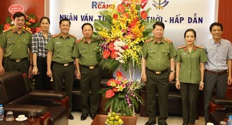 Thứ trưởng Bùi Văn Nam chúc mừng Báo chí CAND nhân Ngày Báo chí Cách mạng Việt Nam