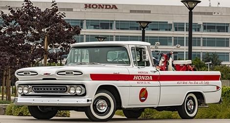 Chịu ơn Chevrolet, Honda phục chế Apache 10 đời 1961