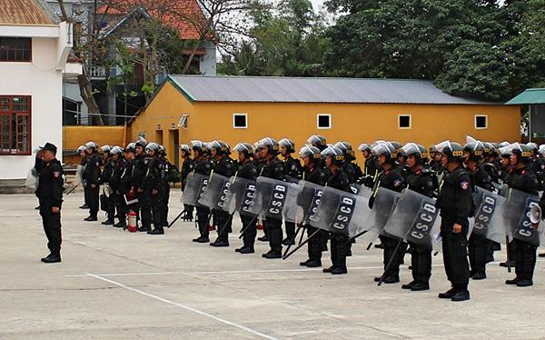 Góp phần đảm bảo ANTT trên địa bàn các tỉnh Đông Bắc
