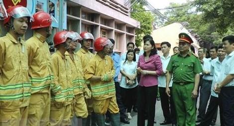 Tăng cường giám sát công tác PCCC trên địa bàn tỉnh Bắc Ninh
