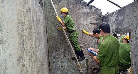 Lực lượng KTHS Công an Quảng Nam nỗ lực góp phần vào việc phá án
