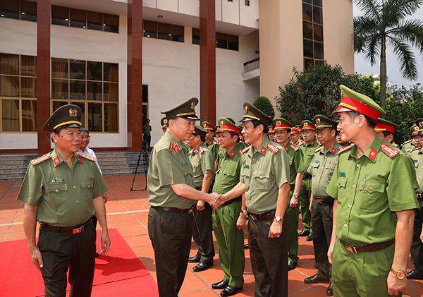 Bộ trưởng Tô Lâm làm việc với Công an tỉnh Quảng Ninh - Ảnh minh hoạ 2