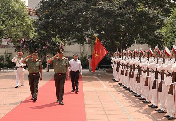 Bộ trưởng Tô Lâm làm việc với Công an tỉnh Quảng Ninh