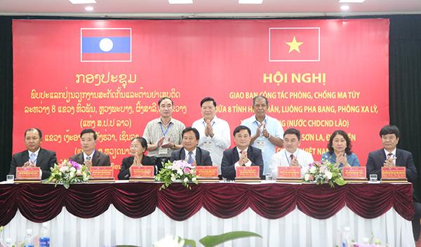 8 tỉnh Việt - Lào ký kết Biên bản phối hợp phòng, chống tội phạm ma túy - Ảnh minh hoạ 2