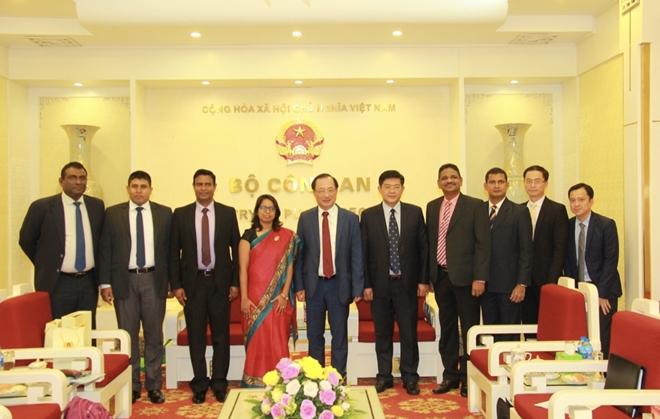 Thứ trưởng Nguyễn Văn Thành tiếp đoàn đại biểu Cảnh sát Sri Lanka - Ảnh minh hoạ 2