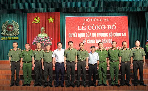 Công bố quyết định của Bộ trưởng Bộ Công an về công tác cán bộ tại Thái Bình - Ảnh minh hoạ 2