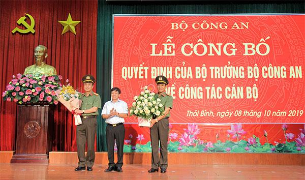 Công bố quyết định của Bộ trưởng Bộ Công an về công tác cán bộ tại Thái Bình - Ảnh minh hoạ 4
