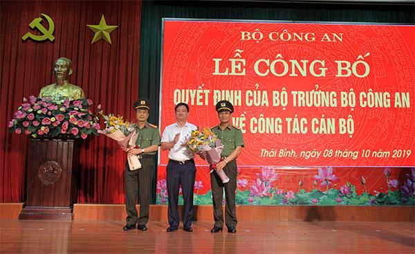 Công bố quyết định của Bộ trưởng Bộ Công an về công tác cán bộ tại Thái Bình - Ảnh minh hoạ 3